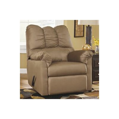 Huntsville Manual Rocker Recliner Upholstery: Mocha