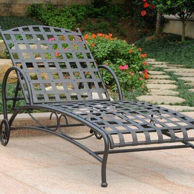 Schilling Chaise Lounge Finish: Antique Black