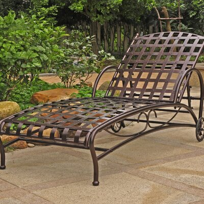 Schilling Chaise Lounge Finish: Bronze