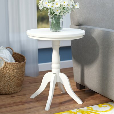 Christopher End Table Finish: White
