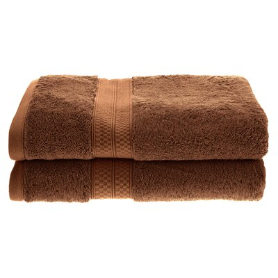 Patric Soft and Absorbent Bath Towel Color: Cocoa