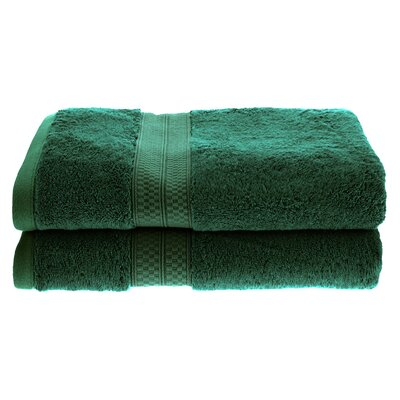 Hyde Rayon Soft and Absorbent Bath Towel Color: Hunter Green