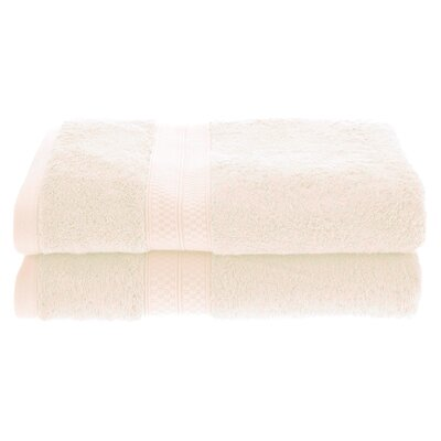 Patric Soft and Absorbent Bath Towel Color: Ivory