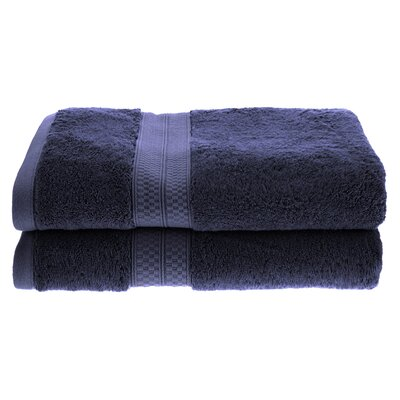Patric Bath Towel Color: River Blue