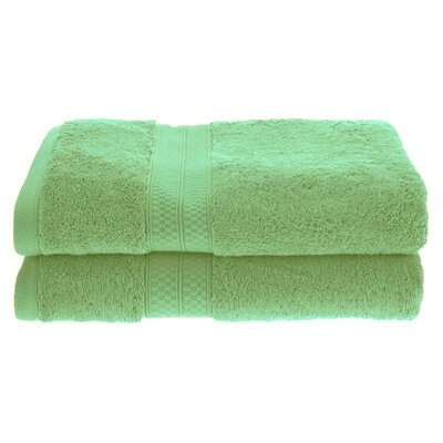 Patric Soft and Absorbent Bath Towel Color: Spring Green