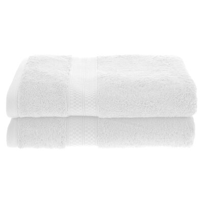 Patric Soft and Absorbent Bath Towel Color: White