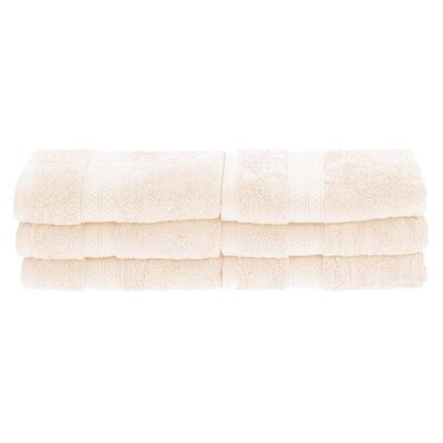 Patric 6 Pieces Hand Towel Set Color: Ivory