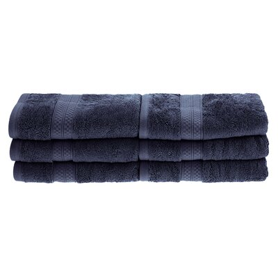 Patric 6 Pieces Hand Towel Set Color: River Blue