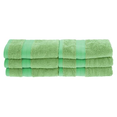 Patric Soft and Absorbent Hand Towel Color: Spring Green