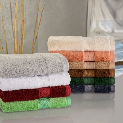 Patric Soft and Absorbent Wash Cloth Color: Chrome