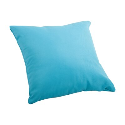 Marietta Outdoor Throw Pillow Size: Small, Color: Sky Blue