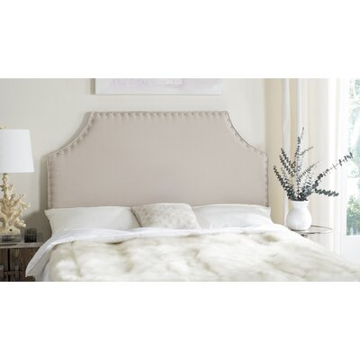 Bainsby Upholstered Panel Headboard Size: King