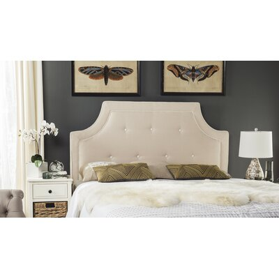 Ottoville Upholstered Panel Headboard Size: King