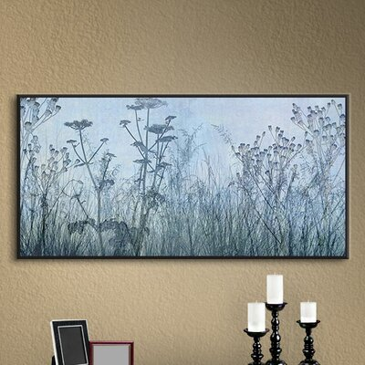 Wildflowers Early Framed Photographic Print on Wrapped Canvas Size: 12