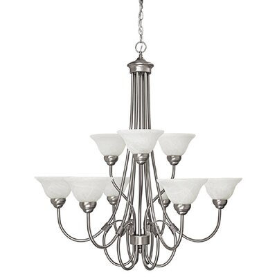 Selby 9-Light Shaded Chandelier