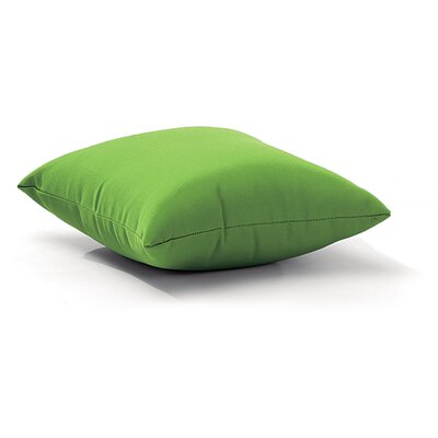 Marietta Outdoor Throw Pillow Size: Small, Color: Green
