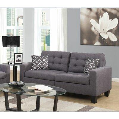 Bateson Sofa Upholstery: Gray