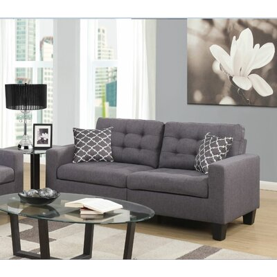 Bateson Sofa Color: Gray
