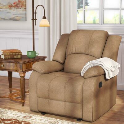 Haliburton Recliner Color: Dove