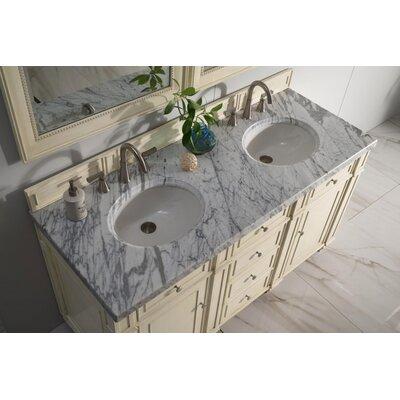 Lambrecht 60 Double Bathroom Vanity