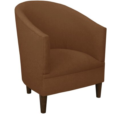 Diana Barrel Chair Upholstery: Linen Chocolate