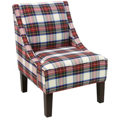 Goldhorn Armchair Upholstery: Stewart Dress Multi, Nailhead Detail: No Trim