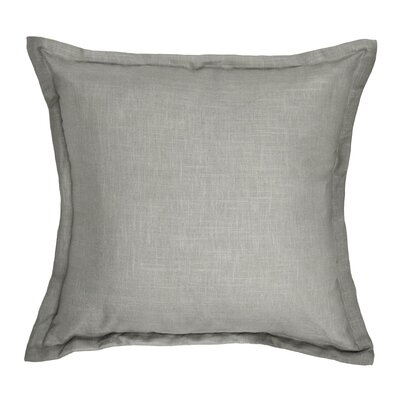 Brownstown Linen Throw Pillow Color: Stone