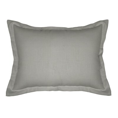 Brownstown Linen Boudoir Pillow Color: Stone