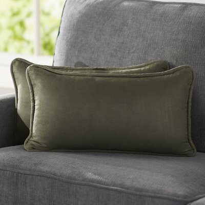 Hargreaves Lumbar Pillow Color: Hunter Green