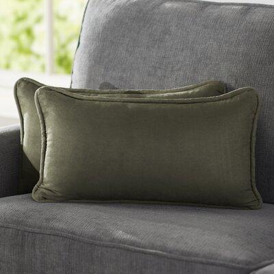 Hargreaves Lumbar Pillow Color: Hunter Green