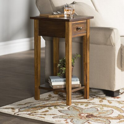Anawan End Table Finish: Loren Walnut