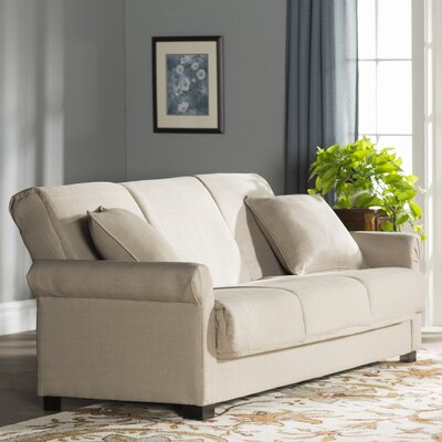 Lawrence Full Convertible Sleeper Sofa Upholstery: Barley Tan