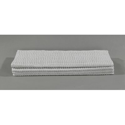Striped Cotton Bath Towel Color: Gray