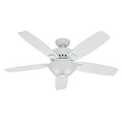 52 Banyan 5-Blade Ceiling Fan Finish: Snow White
