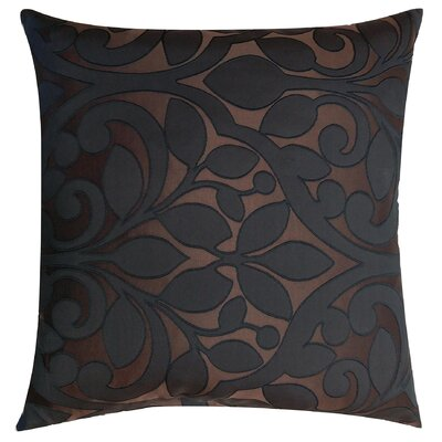 Lotts Decorative Throw Pillow Color: Espresso