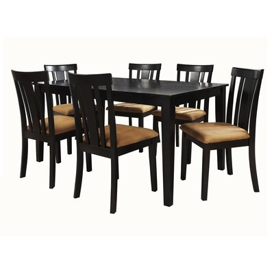 Oneill Modern 7 Piece Wood Dining Set