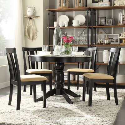 Oneill Modern 5 Piece Wood Dining Set