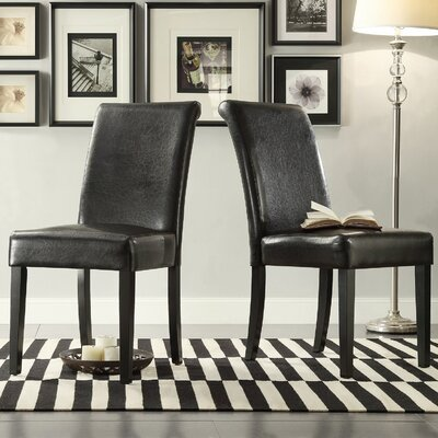 Gault Parsons Chairs Color: Dark Brown