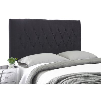 Dublin Modern Adjustable Upholstered Panel Headboard Size: Full