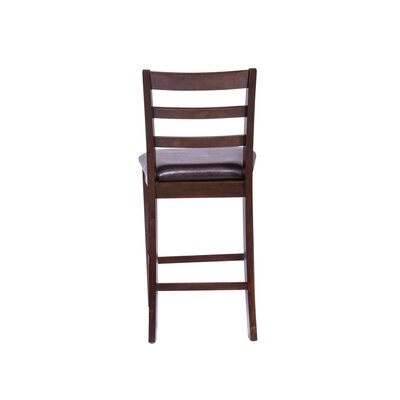 Winthrop Ladder Back 19 Bar Stool (Set of 2)