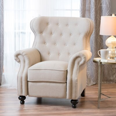 Recliner Upholstery: Cream