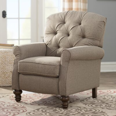 Murray Hill Williamsport Manual Recliner Upholstery: Abington Safari