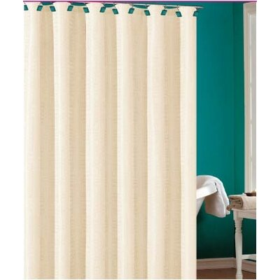 Laurelton Shower Curtain Color: Beige