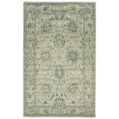 Eugenie Hand-Tufted Blue Area Rug Rug Size: 5 x 8