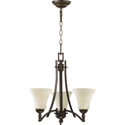 Eastchester 3-Light Shaded Chandelier