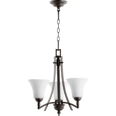 Eastchester Modern 3-Light Shaded Chandelier
