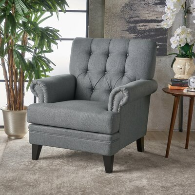 Elliott Bay Armchair Upholstery: Charcoal