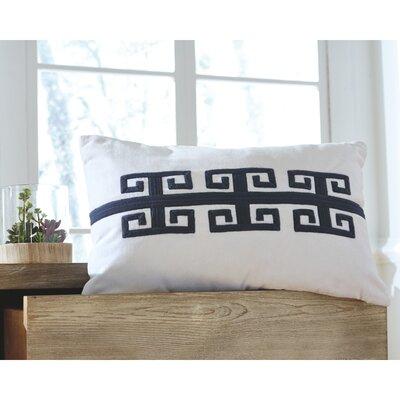Esentepe Throw Pillow Color: Navy