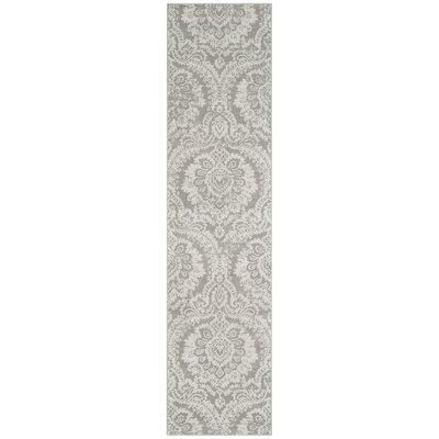 Van Andel Gray/Beige Area Rug Rug Size: Rectangle 26 x 4