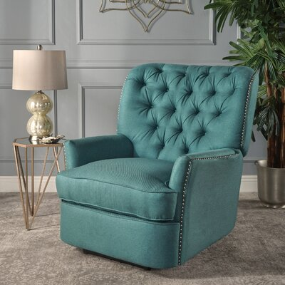 Prestbury Power Recliner Upholstery: Dark Teal